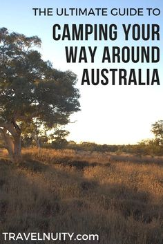 The Ultimate Guide to Camping Your Way Around Australia Travelnuity : The definitive but concise guide on camping your way around Australia: time of year, camping sites, vehicle, camping gear and what else to pack. Winter Camping Gear, Camping Bedarf, Camping Near Me, Camping Places, Camping Guide, Camping Checklist, Campsite, Camping Ideas, Hiking Gear