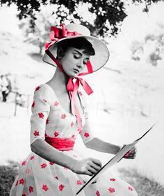Audrey Hepburn:)