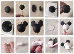 как сделать минни маус из мастики - Поиск в Google