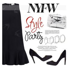 """""""60 Second Style: NYFW After Party"""" by ifchic ❤ liked on Polyvore featuring Essentiel, Dee Keller, Benedetta Bruzziches, NYFW, contestentry, ifchic and nyfwafterparty"""