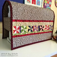 Quilted sewing machi