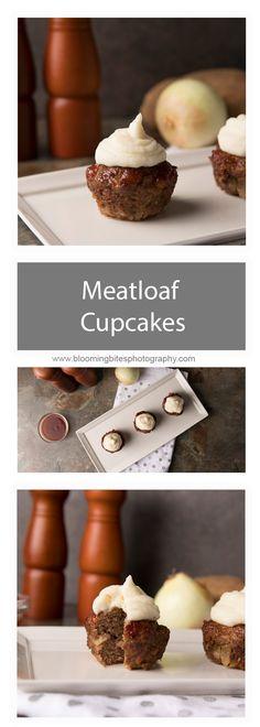 Meatloaf Cupcakes -
