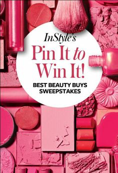 @InStyle Magazine  Magazine #sweepstakes I would love to win editors' selection of the 2014 Best Beauty Buys! Thanks for the chance ♥