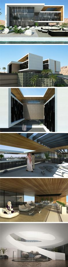 modern 4000 m2 villa in Mecca, Saudi Arabia by NG architects. www.ngarchitects.lt