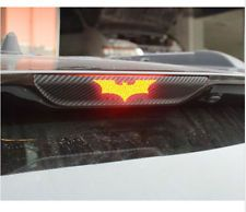 3D Black Batman Carbon Fiber Brake Tail Light Vinyl Sticker Decal Dark Knight (Fits: PT Cruiser)