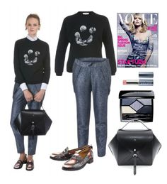 """""""Fall casual outfit"""" by kreateurs ❤ liked on Polyvore featuring Christian Dior, Constance Boutet and Vapour Organic Beauty"""