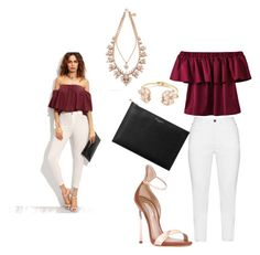 """""""Shein Inspired"""" by its-imani-tho ❤ liked on Polyvore featuring Zhenzi, WithChic, Kate Spade, Casadei, Aspinal of London and Ellen Conde"""
