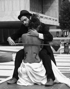 human cello