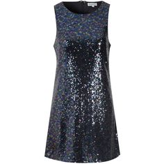 **Alice & You Purple Sequin Shift Dress (507.875 IDR) ❤ liked on Polyvore featuring dresses, purple, purple sleeveless dress, sleeveless shift dress, sequin shift dress, sleeveless dress and sequin cocktail dresses