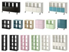 IKEA Kallax (the new Expedit). Love the colors, and the Expedit accessories fit this new line.