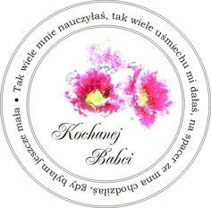 Skarby Magielnicy : Stempelki dla babci i dziadka Cd Diy, Diy And Crafts, Decorative Plates, Decoupage, Printables, Scrapbook, Birthday, Creative, Cards