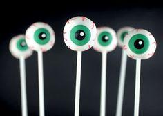 bakerella - eyeball cakepops!
