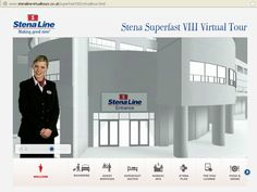 We created virtual tours for the entire Stena Line fleet that help passengers familiarise themselves with the ship and the Stena Line onboard services and experiences pre-travel.
