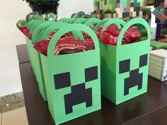Sacola guloseimas Minecraft