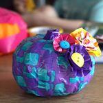 Dollar Store Crafts  » Blog Archive   » 15 Easy Dollar Store Foam Pumpkin Ideas