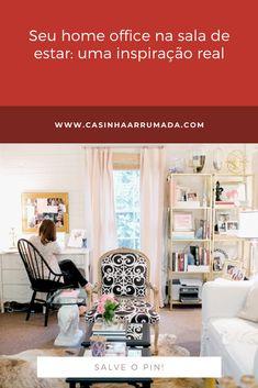 Se você ainda não tem o seu cantinho de trabalho em casa, provavelmente deseja ter um. É cada vez mais comum reservar um cantinho das nossas casas somente para isso. Loft, Bed, Furniture, Home Decor, Decoration Home, Stream Bed, Room Decor, Lofts, Home Furnishings