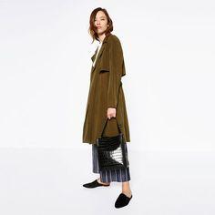Image 1 of EMBOSSED BUCKET BAG from Zara