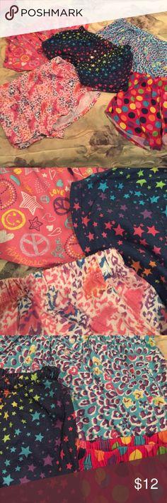 Lot of girls pajama shorts. Five pair girls pajama shorts. Good condition. All Children's place. Size 10/12. Price is for all pairs Children's Place Pajamas Pajama Bottoms