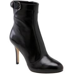 """VIA SPIGA Black Josette ankle boots VIA SPIGA black Josette ankle boots.  Size 5.5.  Beautiful calfskin leather boots topped with gleaming buckle. Side zip closure.  Heel height is 4"""" with 1/2"""" hidden platform.  No PP.  No trade.  Price is FIRM unless bundle. Via Spiga Shoes Ankle Boots & Booties"""