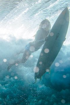 """Underwater surfing by Kirill Umrikhin"""