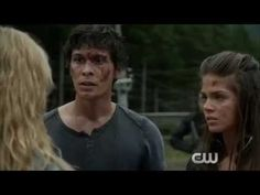 #The100 Her run, his hesitation, Octavia's comment, his sigh of relief...Ahh!!!