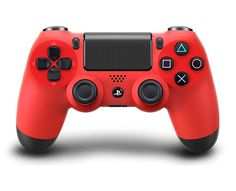 video-gaming: Sony DualShock 4 Wireless Controller for PlayStation 4 - Magma Red - Sony DualShock 4 Wireless Controller for PlayStation 4 - Magma Red. Nintendo 3ds, Nintendo Switch, Xbox 360, Wii, Videogames, Ps4 Controller, Ps4 Games, Video 6, Home