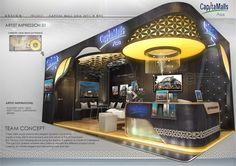 EXHIBITION DESIGN // Special Booth by AMORNWAT OSODPRASIT, via Behance