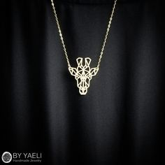 Animal necklace, geometric necklace, giraffe necklace, gold necklace,... (£30) ❤ liked on Polyvore featuring jewelry, necklaces, gold jewelry, gold geometric necklace, geometric necklace, yellow gold necklace and giraffe necklace