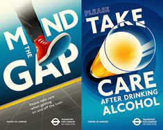 These aren't your average safety PSA posters.