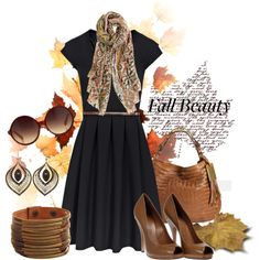 """""""Fall Beauty"""" by kilauren on Polyvore"""