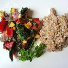 Buchweizen mit Mangold und Zucchini @ de.allrecipes.com