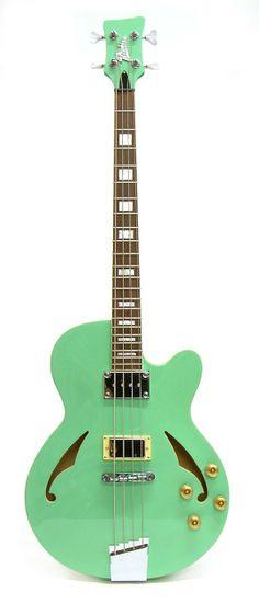 Italia Torino Semi Hollow Electric Bass Guitar