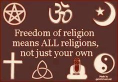 And most important of all, freedom FROM religion!