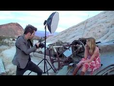 Zach and Jody Gray using the Rapid Box for a Fashion Photoshoot - YouTube