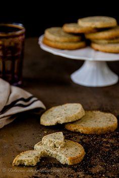 Chai Shortbread cookies recipe | via Delicious Everyday deliciouseveryday.com