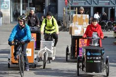 Les boîtes à vélo ont un vrai succès dans le centre de Nantes