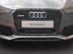 """RS6  """"quattro"""" trade mark with carbon pack"""
