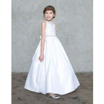 Shop New First Communion Dresses for 2019 on sale. Popular Girls First Holy Communion Dresses offered in a variety of sizes, lengths. Shop 2019 First Communion Dresses on Sale at Christian Expressions Girls First Communion Dresses, Holy Communion Dresses, Size 14 Dresses, Dresses For Sale, Lace Sleeves, Dresses With Sleeves, Rhinestone Dress, Beaded Lace, Beautiful Dresses