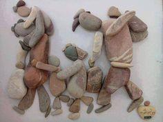 De naam van de kunstenaar is Nizar Ali Badr. Hij is een Syrische vluchteling in Nederland. The name of the artist is Nizar Ali Badr. He's a refugee from Syria in the Netherlands. Pierre Decorative, Refugee Crisis, Syrian Refugees, Assemblage Art, Art Plastique, Pebble Art, Stone Art, Stone Painting, Rock Painting
