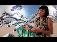 Bonnie Monteleone has been to three oceans collecting plastics to of miles from land and are found here in this art show. Using the well recognize. Watercolor Techniques, Art Techniques, Bermuda Beaches, Great Pacific Garbage Patch, Plastic Problems, Ocean Projects, Earth Book, Ocean Unit, Trash Art