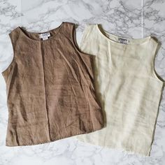 ⍆ coming soon: vintage linen crop tops / cocoa brown and vanilla white linen tops at minminvintage.etsy.com #vintage #linen #linentop