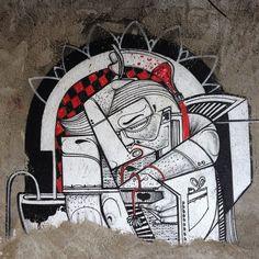 More details of the work, place and artist: http://streetartrio.com.br/artista/how-and-nosm/compartilhado-por-streetartrio-em-aug-21-2013-0958/ /  #howandnosm #streetartrio #streetphotography #buildinggraffiti #graffitiart #art #streetart #handmade #street #graff  #urban #wallart #spraypaint #aerosol #spray #wall #mural #murals #painting #arte #color #streetartistry #artist #grafiti #urbano #rue #guerillaart