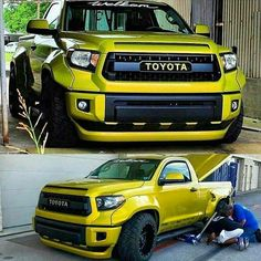 Badass Tundra! | Thoughts? • Follow @amazeperformance • • Owner @rutledgewood • • Photo via @world_around_motors • #Toyota #Tundra #Motorworld_247 #itswhitenoise #TRD #offroad #widebody #badass #toyotatundra #4x4 #wicked #