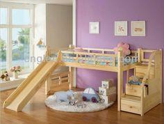 Para los engreídos de la casa presentamos dormitorios con unas camas camarotes o literas que adorarán, ya que están diseñadas con la inspir...