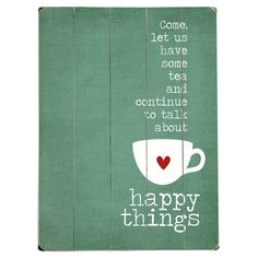 Happy Things Wall Decor
