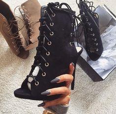 Pinterest| Samdstylist | shoe fetish Dream Shoes, Crazy Shoes, Heeled Boots, Bootie Boots, Shoe Boots, Shoe Closet, Sneaker Heels, Sneakers, Shoes Heels