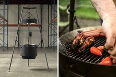 The Burch Barrel's redesigned grilling system is the best I've ever seen Barbecue Pit, Summer Barbecue, Char Grill, Bbq Grill, Grilling Recipes, Cooking Recipes, Grill Stand, Best Charcoal Grill, Grill Plate