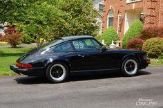 Porsche 911 - first time using a DA machine
