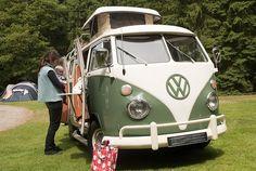 vw van with door open - Google Search