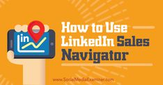 Do you use LinkedIn to find prospects for your business?  Have you tried Sales Navigator?  LinkedIn's Sales Navigator helps you find and keep in touch with the right prospects at the right time.  In this article you'll discover how to get started with Lin